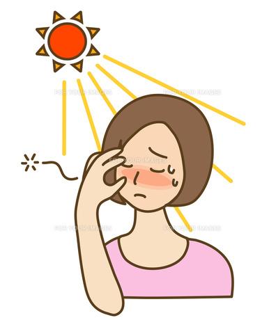 日射病の写真素材 [FYI00075509]