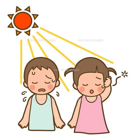日射病の写真素材 [FYI00075517]