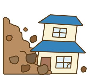 土砂崩れの写真素材 [FYI00075527]
