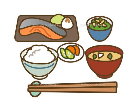 和風の食事の写真素材 [FYI00075529]