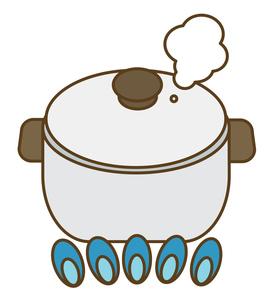 調理中の鍋の写真素材 [FYI00075539]