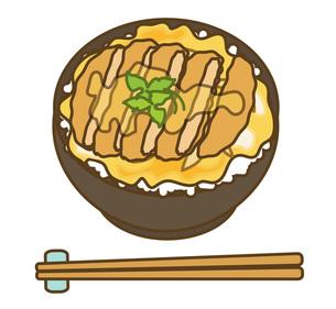 カツ丼の写真素材 [FYI00075590]