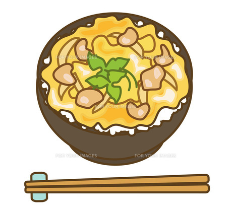 親子丼の写真素材 [FYI00075592]