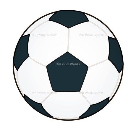サッカーボールの素材 [FYI00075597]