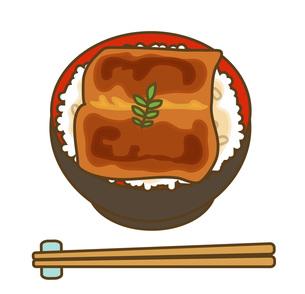 うな丼の写真素材 [FYI00075603]