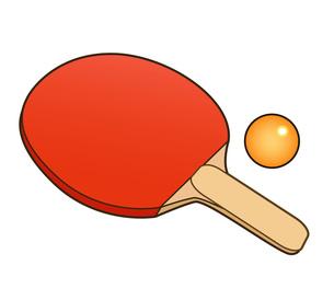 卓球用具の写真素材 [FYI00075611]