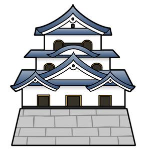 日本の城の写真素材 [FYI00075637]