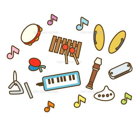 楽器の写真素材 [FYI00075693]
