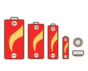 乾電池の写真素材 [FYI00075725]