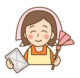 掃除をする主婦の写真素材 [FYI00075754]