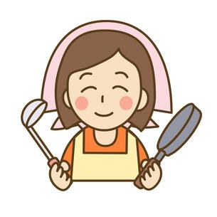 料理をする主婦の写真素材 [FYI00075766]