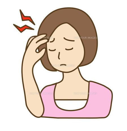 偏頭痛の写真素材 [FYI00075783]