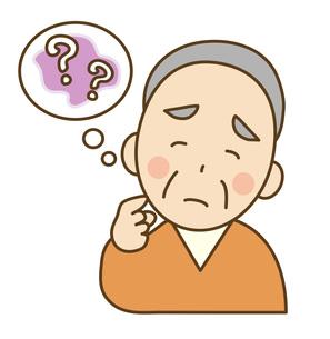 高齢者の物忘れの写真素材 [FYI00075817]