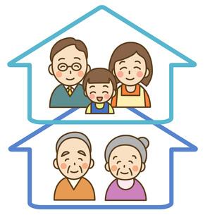 二世帯住宅の写真素材 [FYI00075822]