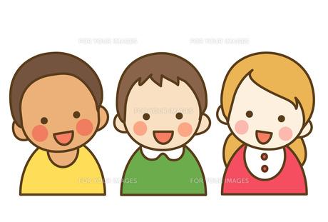 人種の違う子供達の写真素材 [FYI00075838]