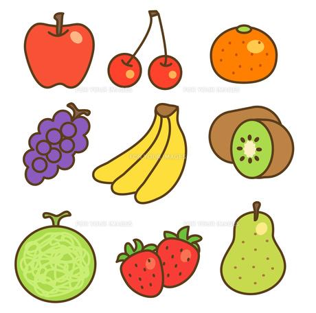 色々な果物の写真素材 [FYI00075856]