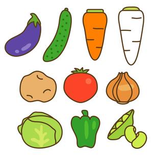 色々な野菜の写真素材 [FYI00075867]