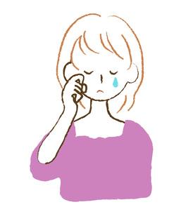 泣く女性の写真素材 [FYI00075911]