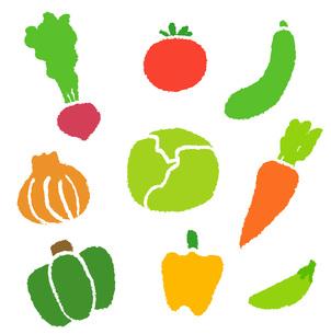 色々な野菜の写真素材 [FYI00075926]