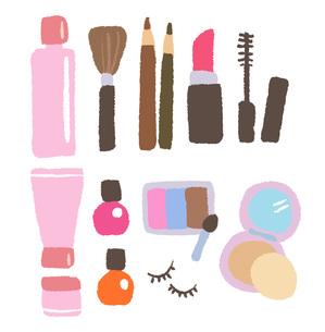 化粧道具の写真素材 [FYI00075931]