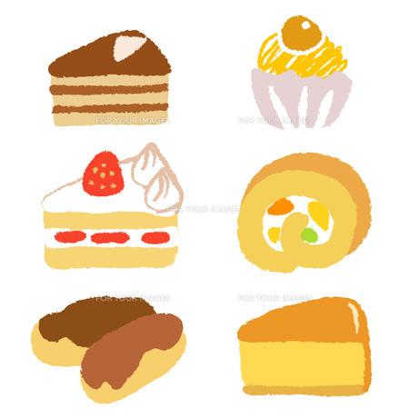 色々なケーキの素材 [FYI00075935]