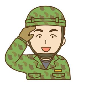 自衛隊員イメージの写真素材 [FYI00075986]