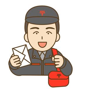 郵便配達の写真素材 [FYI00075995]