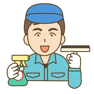 清掃員の写真素材 [FYI00076001]
