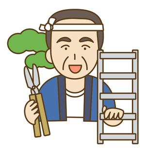庭師の写真素材 [FYI00076031]