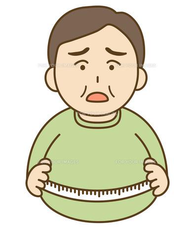 太った男性の素材 [FYI00076055]