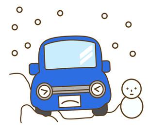 雪道の写真素材 [FYI00076098]