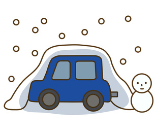 積雪の素材 [FYI00076101]