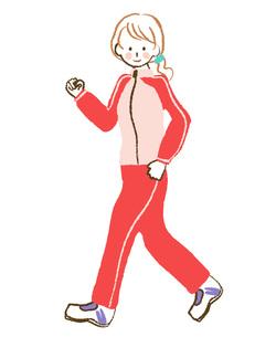 歩く女性の素材 [FYI00076337]