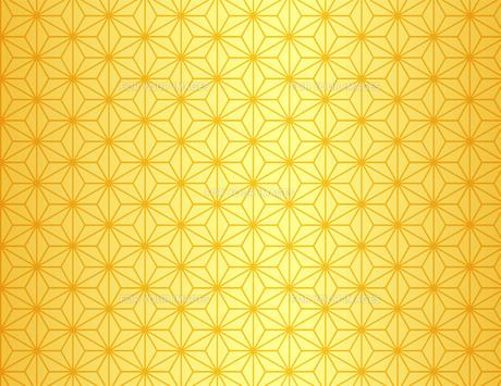 麻の葉模様の素材 [FYI00076368]