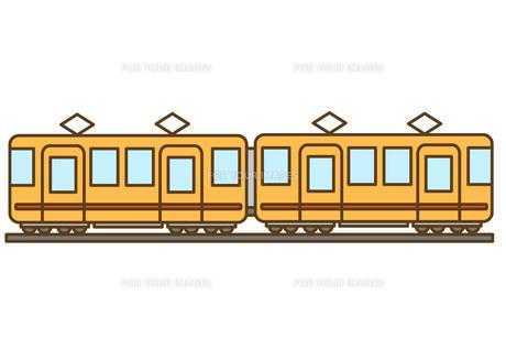 電車の素材 [FYI00076371]