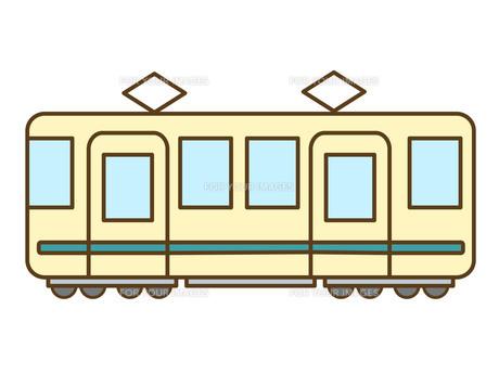 電車の素材 [FYI00076375]