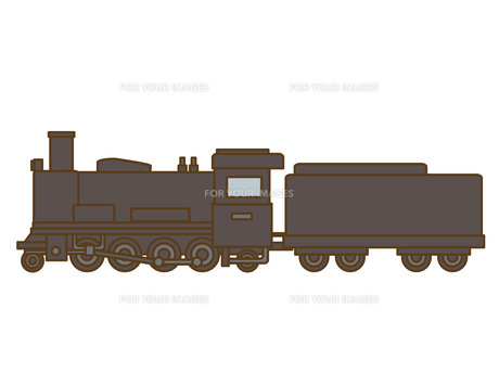 蒸気機関車の写真素材 [FYI00076396]