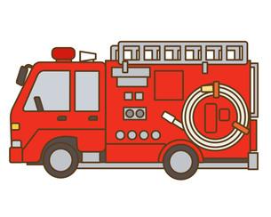 消防車の写真素材 [FYI00076399]