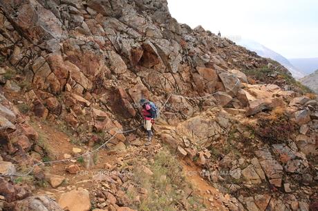 登山の写真素材 [FYI00076448]
