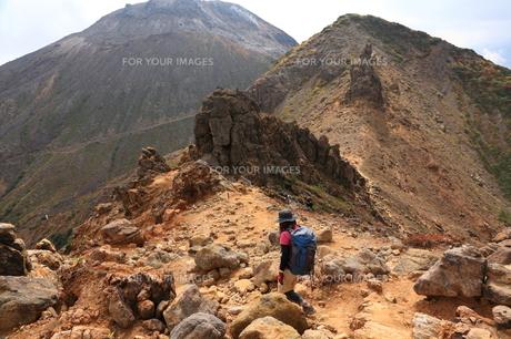 登山の写真素材 [FYI00076452]