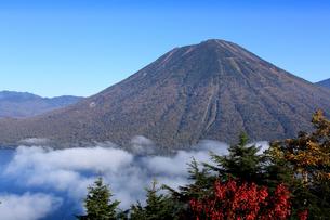男体山と中禅寺湖の写真素材 [FYI00076470]