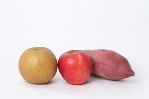 ナシリンゴサツマイモの素材 [FYI00076488]