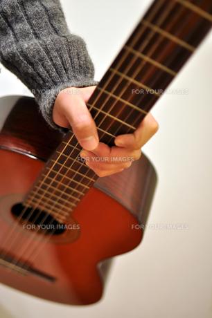 クラシック・ギターの写真素材 [FYI00076585]