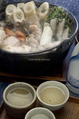 きりたんぽ鍋の写真素材 [FYI00076655]