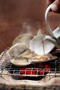 焼き蛤の写真素材 [FYI00076690]