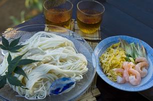 素麺の写真素材 [FYI00076778]