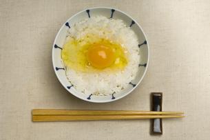 卵かけご飯の写真素材 [FYI00076802]