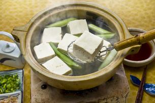 湯豆腐の写真素材 [FYI00076825]