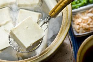 湯豆腐の写真素材 [FYI00076830]