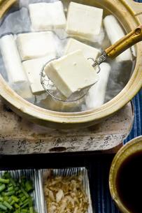 湯豆腐の写真素材 [FYI00076835]